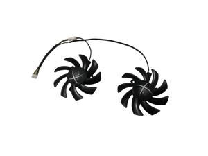 2pcs/set New CF9010H12S RX 480/470 VGA GPU Cooler Graphics Fan For XFX R9 390X/390 8G RX480 RX470 Video Card Cooling