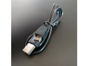 Data Charging Cable Cord Adapter USB 2.0 A Male to Mini 5 Pin B Best Black length 80cm Data Cables usb extension cable