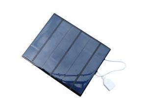 Solar Panel 3.5W Solar Charger For Mobile Phone Mobile Power Bank Charger Polycrystalline Solar Panel Charger USB black,black
