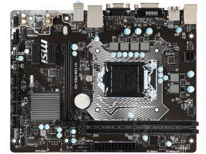 motherboard for MSI H110M PRO-VD LGA 1151 DDR4 32GB USB2.0 USB3.1 VGA DVI H110 Desktop motherboard
