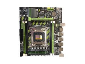 X79G M.2 Interface Motherboard LGA 2011 DDR3 Mainboard for In-tel Xeon E5/V1/C1/V2 Core I7 CPU Accessories