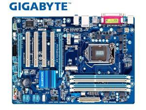 Gigabyte GA-P75-D3 motherboard DDR3 LGA 1155 P75-D3 boards USB2.0 USB3.0 32GB B75 Desktop Motherboard