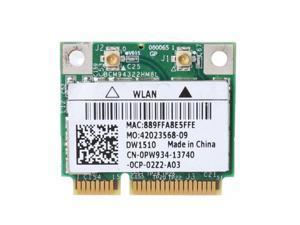 BCM94322HM8L BCM94322 Dual Band 802.11a/b/g/n DW1510 Mini PCIE WiFi Card Adapter