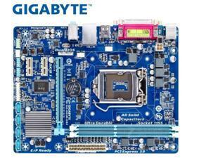 GIGABYTE GA-H61M-DS2 Desktop Motherboard H61 Socket LGA 1155 i3 i5 i7 DDR3 16G uATX UEFI BIOS H61M-DS2 board