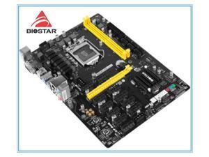 BIOSTAR Motherboar 1151  DDR4 TB250-BTC PRO Mining  12PCIE Support 12 Video Card BTC ETH ZEC Mining TB250 BTC USB 3.0