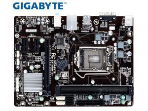 Gigabyte GA-H81M-S1 motherboard  LGA 1150 DDR3 16GB USB3.0 I3 I5 I7 H81M-S1 H81used Desktop motherboard  PC