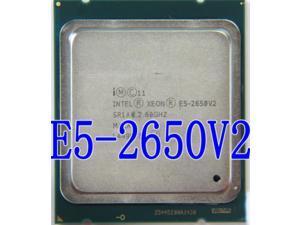Procesador Intel Xeon E5-2650 V2 E5 2650 V2 CPU 2,6 GHZ LGA 2011 SR1A8 Octa Core, procesador de escritorio e5 2650V2, puede funcionar