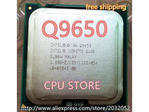 Lntel Core 2 Duo Q9650 2 QUAD Q9650 Processor(3.0GHz /12MB Cache /FSB 1333 )Desktop LGA 775 CPU