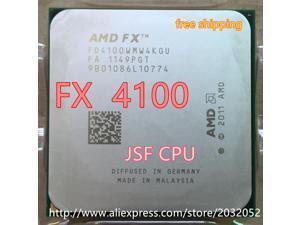 AMD FX 4100 AM3+ 3.6GHz 8MB CPU processor FX serial shipping scrattered pieces FX-4100 FX4100 (FX serial cpu)