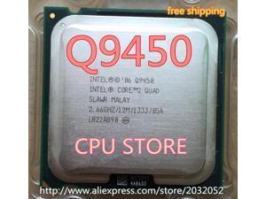 Inteligencia Core 2 Quad Q9450 q9450 CPU (procesador de 2,66 Ghz/ 12M /1333GHz) 775 CPU