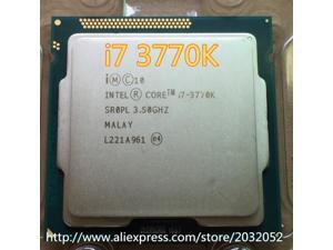 Lntel Core i7-3770K i7 3770K 3.5Ghz/8MB 4 cores Socket 1155/5 GT/s DMI Desktop CPU