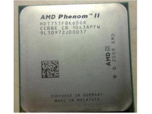 AMD Phenom II X6 1075T(3.0GHz/6MB/6 cores/Socket AM3/938-pin)HDT75TFBK6DGR Six Core Desktop CPU