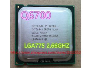 Intel Core 2 Quad Q6700 q6700 procesador de CPU 2,66 Ghz/ 8M /1066GHz Socket 775 trabajo
