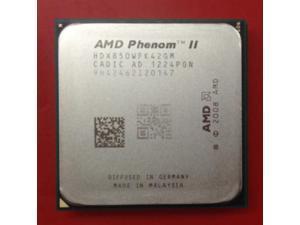 AMD-procesador de CPU AMD Phenom II X4 850x4 850 850, Quad-Core (3,3 Ghz/ 4M /95W), enchufe AM3 AM2 + 938 pin, 100% de trabajo
