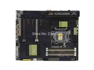 For ASUS motherboard SaberTooth P67 DDR3 LGA 1155 boards 32GB USB2,0 USB3.0 SATA3.0 Desktop motherboard