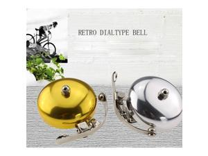 Bicycle Bell Aluminum Alloy Bicycle Ring Simple Design Horn Sound Outdoor Protective Bell Retro Biking Bell Ring Bells Accessory