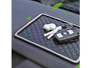 Car Dashboard  PVC UniversalFor Phone GPS Cards Black Foam Non-Slip Anti-Slip Sticky Premium Mat  Pad Accessories