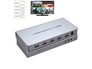 HDMI Seamless Switcher HDMI Quad Scree splitter HDMI 4x1 Quad Multi-Viewer Switcher full HD1080P