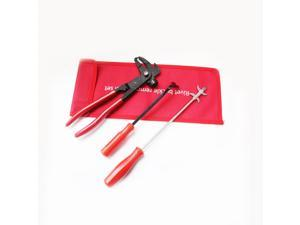 Auto Tire Repair Tool Kits Balance Hammer + Sharp Hook + Flat Hook Vehicle Maintenance Kit 3 Piece Set