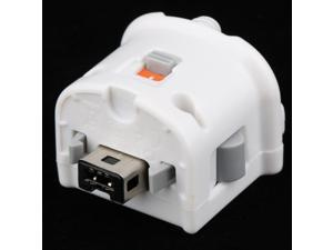 White Motion Plus External Sensor Adapter for Nintendo Wii Remote Controller Induction Accelerator Easy Use Universal