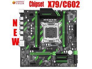 HUANANZHI X79 motherboard huanan X79 ZD3 LGA2011 ATX SATA3 USB3.0 Dual PCI-E 16X NVME M.2 SSD support REG ECC RAM Xeon E5 CPU