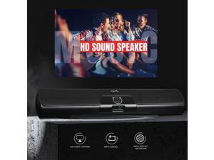 USB Wired Powerful Computer Stereo Speaker USB Powered Portable Mini Sound Bar for Windows PCs Desktop Computer Laptop MP3