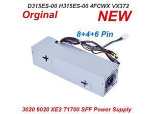 PSU For Dell OptiPlex 3020 9020 XE2 T1700 SFF 315W Power Supply D315ES001L H315ES-00 4FCWX 04FCWX