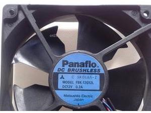 For Panaflo FBK-12G12L DC 12V 0.2A 120X120X38mm Server Cooler Fan
