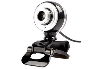 USB Webcam Computer Camera with Microphone 30Fps Driverless for Desktop Laptop for Windows XP