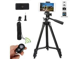 Phone Tripod, 41Inch Tripod for Cell Phone Tripod with Phone Holder and Remote Shutter, Perfect for Live Streaming