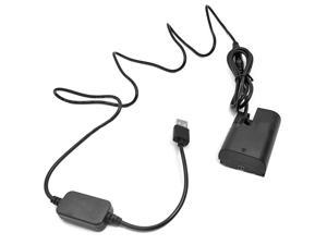 5V Power Supply USB LP-E6 ACK-E6 DR-E6 Power Adapter for Canon EOS 5D Mark II III 5D2 5D3 6D 60D 70D 80D