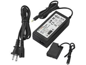 EH-5 EP-5A AC Power Supply Adapter Charger DC Coupler kit, Dummy EN-EL14/EN-EL14a Battery For Nikon D3100 D3200 D3300 D3400 D5100 D5200 D5300 D5500 D5600 Df P7000 P7100 P7700 D7800 Cameras