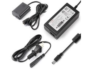 ACPW20 Replcement AC Power Supply Adapter kit (Replce Sony NP-FW50 Battery) for Sony Alpha NEX-5 NEX-5A NEX-5C NEX-5CA NEX-5CD NEX-5H NEX-5K NEX-3 A6000 A6300 A6500 A3000 A5000 A7