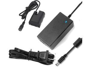 ACK-E6 DR-E6 AC Power Adapter DC Coupler Charger kit Repalce LP-E6 LP-E6N Battery for Canon EOS 5DS, 5DS R, 6D, 7D, 60D, 70D, 60Da, 80D, 5D Mark II III IV, 7D Mark II Camera. [Fully-Decoded]