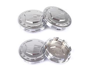 """4pcs 83mm 3.25"""" inch Chrome Car Wheel Center Hub Caps for Escalade ESV EXT"""