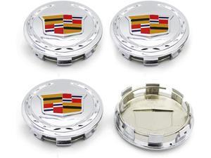 """4PCS New Wheel Center Caps Hubcaps Emblem 83mm/3.25"""" for Cadillac Escalade 2007-2013 ESV EXT 9595891"""