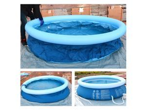 """118.11""""*29.92"""" Inflatable Family Swimming Pool Family Kids Water Play Fun Backyard Inflatable Paddling Pools Family Kids Summer Holiday Garden Outdoor Summer Kids Paddling Pools New"""