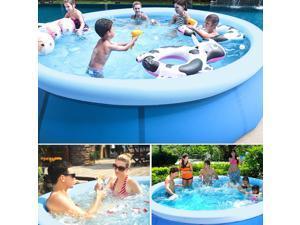 "70.86""*28.74"" Family Swimming Pool Garden Outdoor Summer Inflatable Kids Paddling Pools Summer Holiday Water Summer Fun Backyard Garden Outdoor"