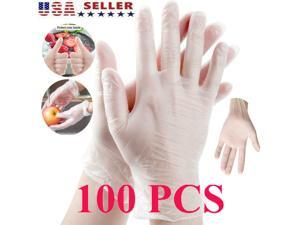 100 PCS Strong Nitrile Gloves Disposable Latex Free Vinyl Powder Free Medical Disposable Gloves Medical Grade Powder Free Latex & Vinyl Gloves