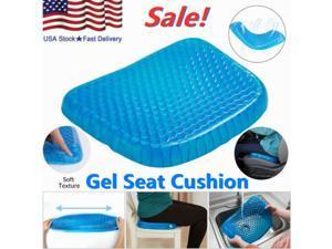 Blue Egg Sitting Gel Flex Cushion Seat Sitter Flex Pillow Back Support Sit On An Egg Breathable Seat Cushion Gel Flex Sitting Cushion Back Support