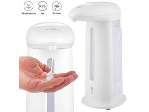 IR Sensor Hand Wash Touchless Bathroom Automatic Sanitizer Soap Liquid Shampoo Dispenser Home