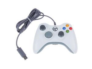 White USB Wired Xbox 360 Controller Game Pad For Microsoft Xbox 360 PC Windows