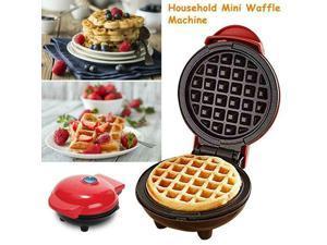 Mini Waffle Maker NonStick Pancake Snack Paninis Machine Kitchen Supplies Breakfast Baking