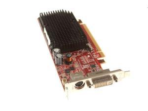 KJ334 - Dell ATI X1300, PCI-E 16X, 128MB, Low Profile, DVI, TV out, OUGA4