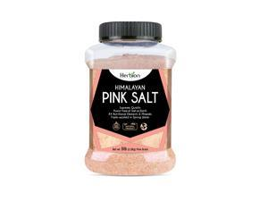 Herbion Himalayan Pink Salt – 5 lb. (2.2 Kg) Jar - Fine Grain – GMO Free – Supreme Quality - Chemical Free - Vegan - Kosher Certified – Fine Grain All-Natural Salt – Triple-washed in Spring Water