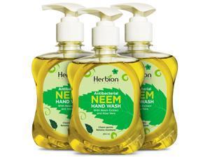 Herbion Naturals Hand Wash 120 ml/8.5 oz (Pack of 3)