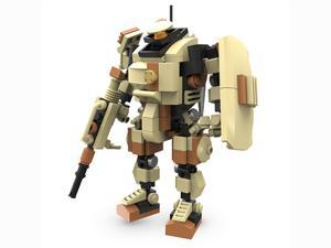 MyBuild Mecha Frame Ranger 5010 Mech Suit Robot Blocks Cabin Fit for a Minifig Great Articulation Action Figure 5 inches Height Bricks Building Toy Compatible with other Major Brands
