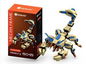 MyBuild Mecha Frame Mimicry 5015 Sci-Fi Series Cool Bricks Scorpion Creature Mimics Model Kit Creative and Fun Building Toy