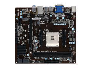 ECS A320AM4-M3D AM4 AMD A320 SATA 6Gb/s USB 3.0 HDMI Micro ATX  AMD Motherboard
