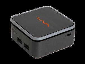 ECS Elitegroup LIVA Q2 Desktop Mini PC (Intel Celeron N4000 dual-core, 4GB RAM, 32GB eMMC, WiFi & Bluetooth, Win 10 Home installed)